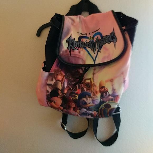 b305cb5bb41 Disney Handbags - Disney x Squaresoft Kingdom Hearts x Loungefly Bag